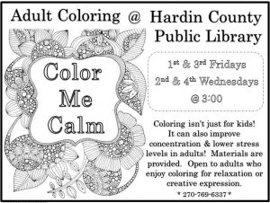 This Group Is Open To Adults Who Enjoy Coloring For Relaxation Or Creative Expression Isnt Just Kids It Can Also Improve Concentration And