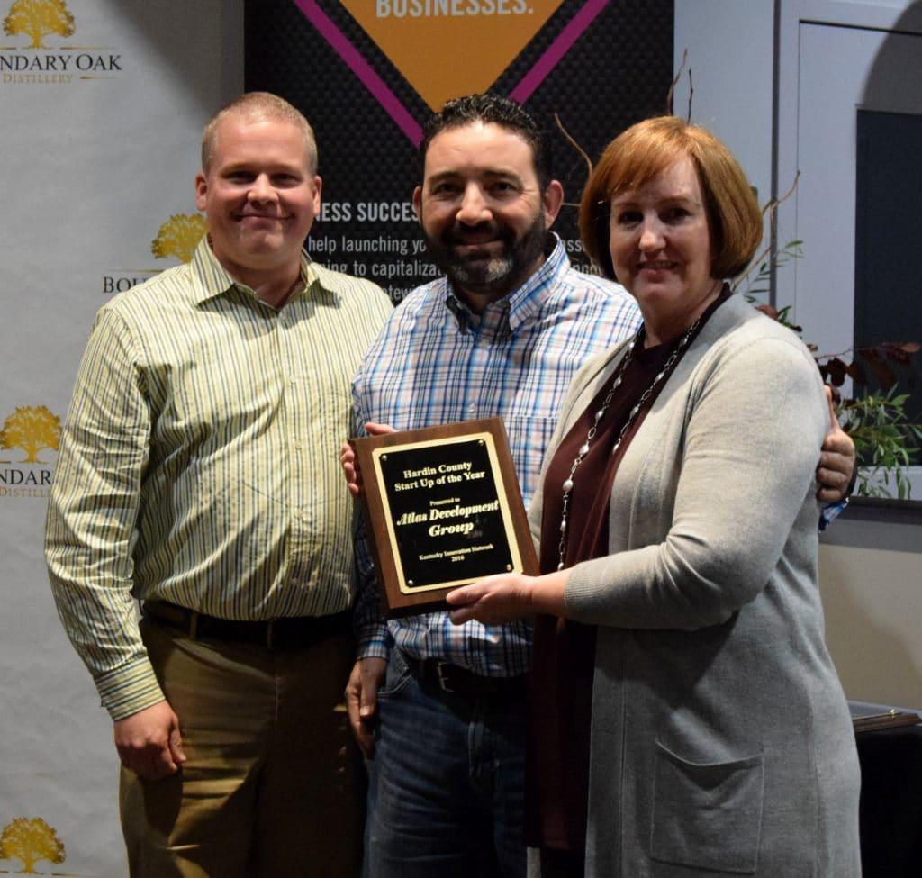 Hardin County Startup Of The Year Atlas Development Group Award Presentation