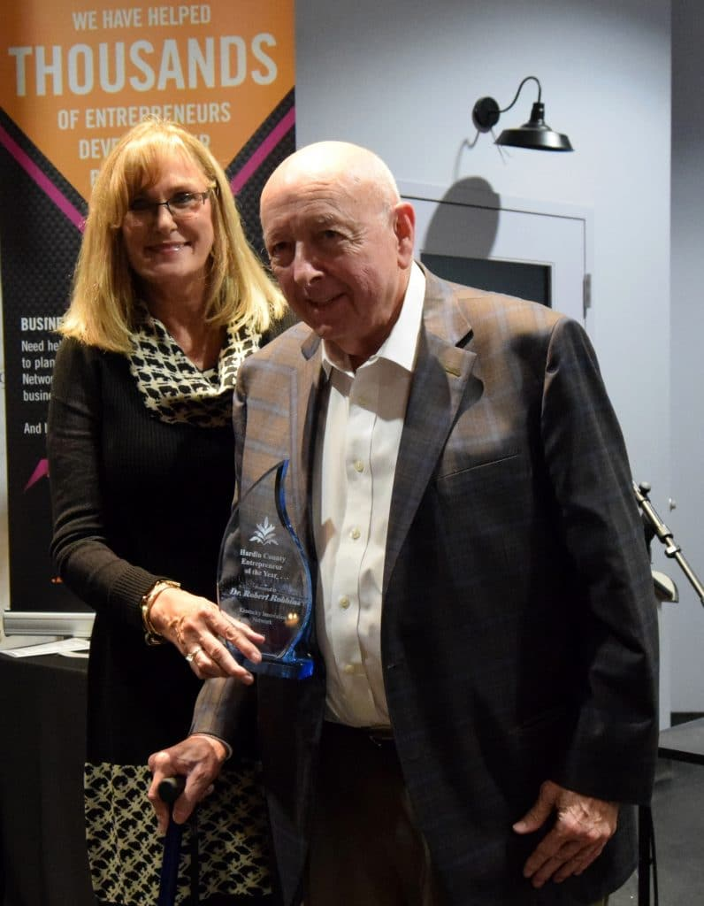Dr Robbins Startup Garden Hardin County Entrepreneur Of The Year