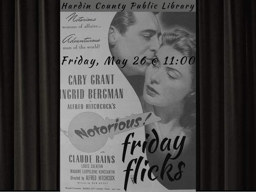 May 26 Friday Flicks