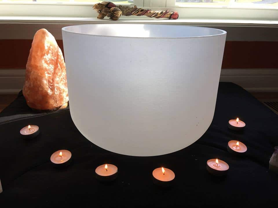 crystal bowl healing workshop