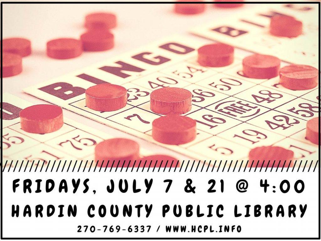July 7,21 Bingo