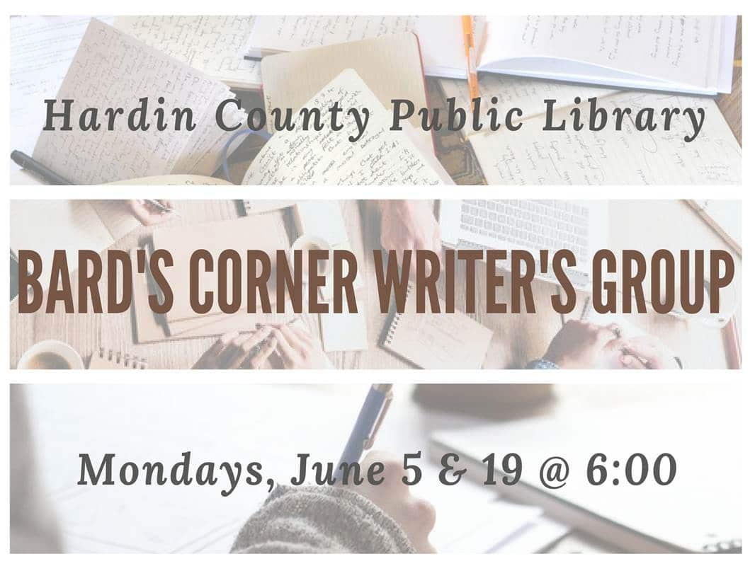 June 5,19 Bard's Corner