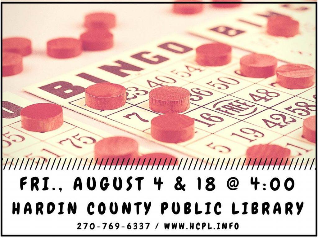 Aug 4,18 Bingo