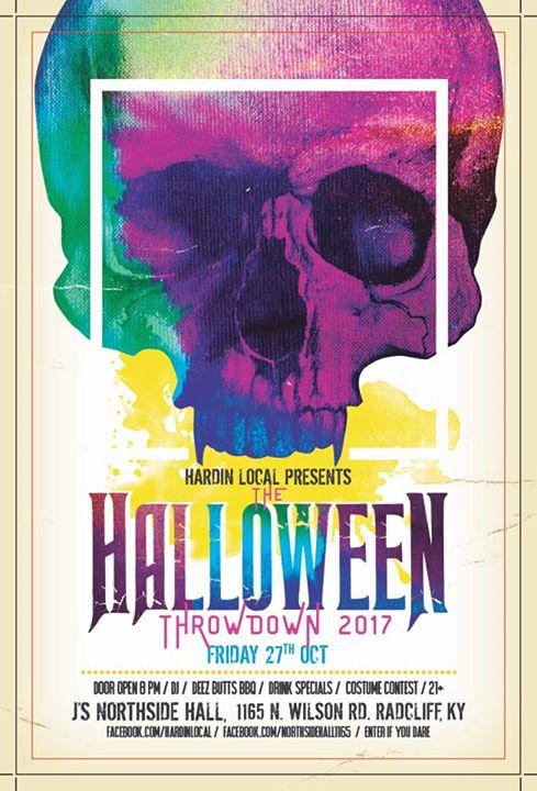 The Halloween Throwdown Hardin County 2017 Party